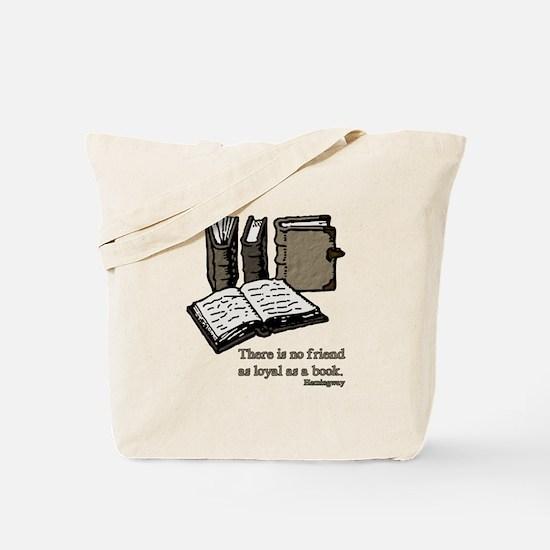 Books-3-Hemingway Tote Bag