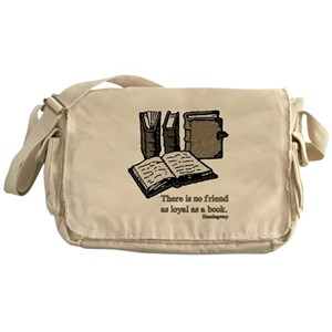c2fddafe209 Book Quotes Messenger Bags - CafePress