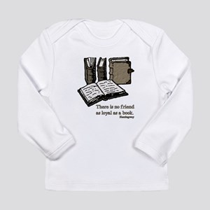 Books-3-Hemingway Long Sleeve T-Shirt