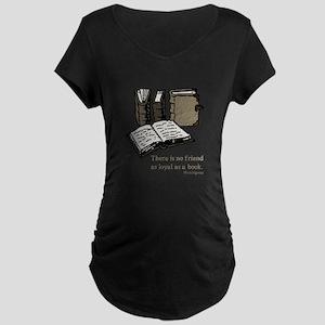 Books-3-Hemingway Maternity T-Shirt