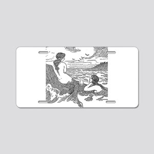 Latimer J Wilson Mermaids Aluminum License Plate
