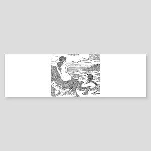 Latimer J Wilson Mermaids Bumper Sticker