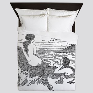 Latimer J Wilson Mermaids Queen Duvet