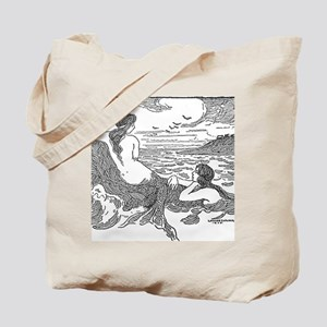 Latimer J Wilson Mermaids Tote Bag