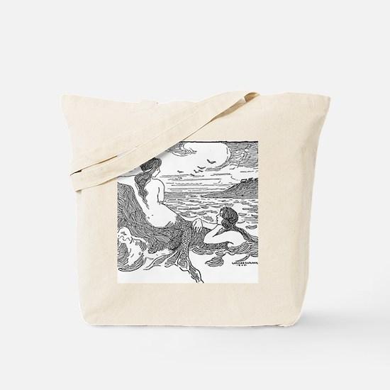 Latimer J Wilson Mermaids Tote Bag