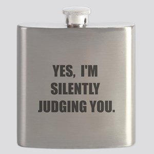 Silently Judging Flask
