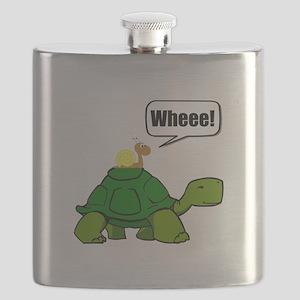 Snail Turtle Ride Flask