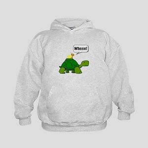 Snail Turtle Ride Hoodie