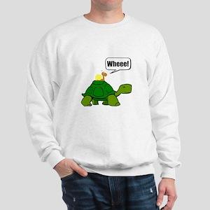 Snail Turtle Ride Sweatshirt