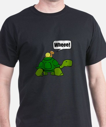Snail Turtle Ride T-Shirt
