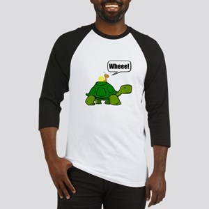 Snail Turtle Ride Baseball Jersey