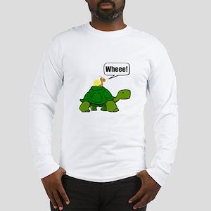Snail Turtle Ride Long Sleeve T-Shirt