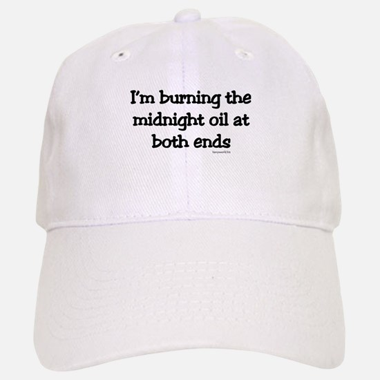 Midnight Oil Baseball Baseball Cap