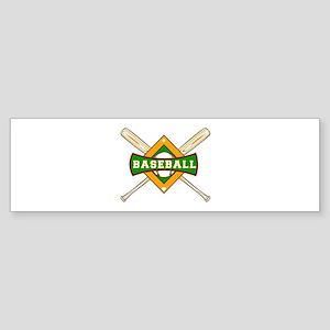 Baseball Logo Bumper Sticker