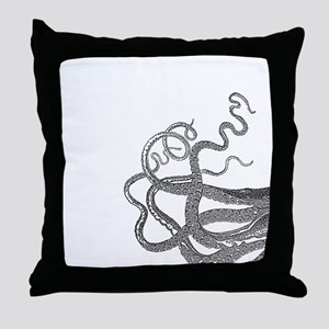Kraken tentacles Throw Pillow