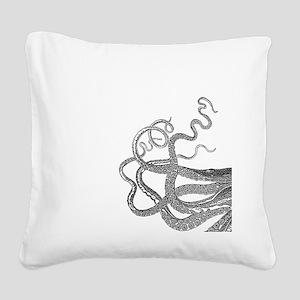 Kraken tentacles Square Canvas Pillow