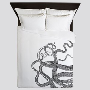Kraken tentacles Queen Duvet