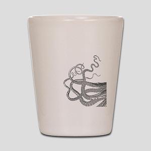 Kraken tentacles Shot Glass