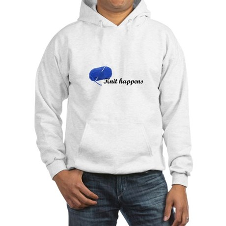 Knitters - Knit Happens Hooded Sweatshirt