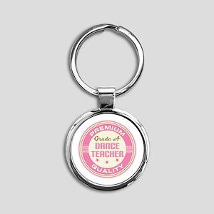 Premium quality Dance teacher Round Keychain
