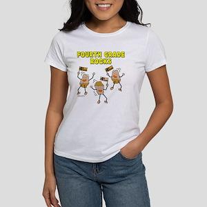 Fourth Grade Rocks Women's T-Shirt