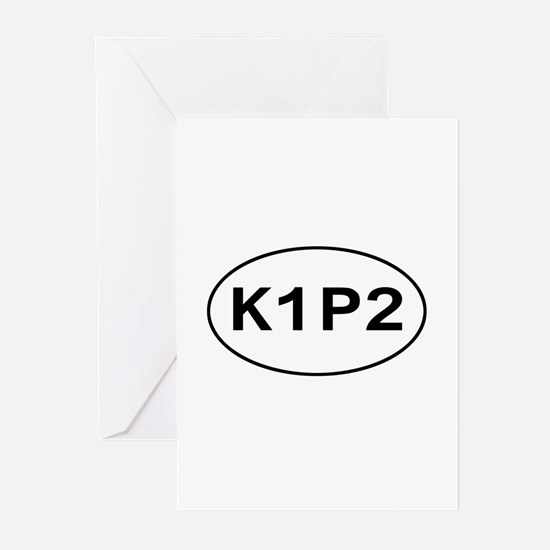 K1P2 - Knit One Purl Two Greeting Cards (Package o