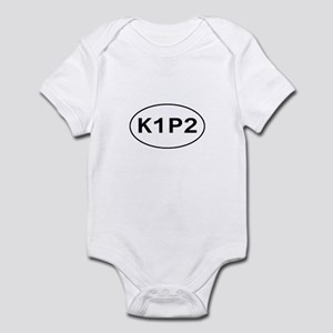 K1P2 - Knit One Purl Two Infant Bodysuit