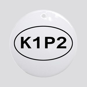 K1P2 - Knit One Purl Two Ornament (Round)