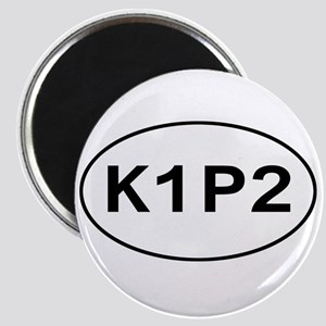 K1P2 - Knit One Purl Two Magnet
