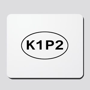 K1P2 - Knit One Purl Two Mousepad