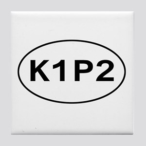 K1P2 - Knit One Purl Two Tile Coaster