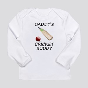 Daddys Cricket Buddy Long Sleeve T-Shirt