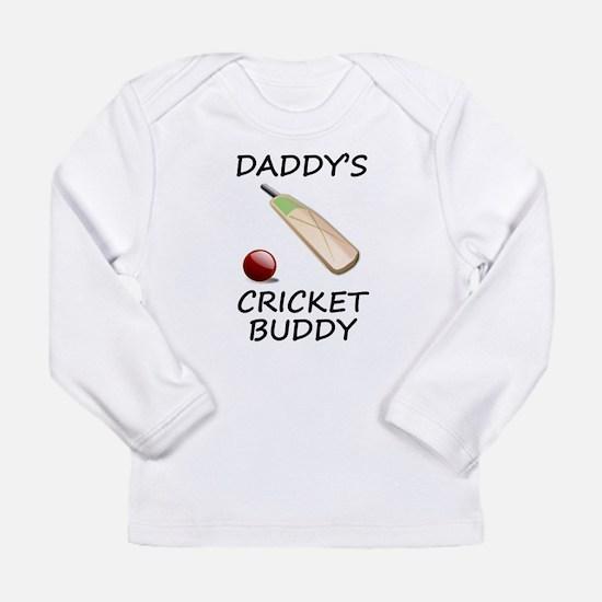 Daddys Cricket Buddy Long Sleeve T-Shirt