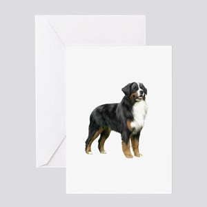 Bernese MD (stand) Greeting Card