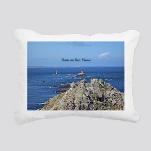 Pointe du Raz, France Rectangular Canvas Pillow