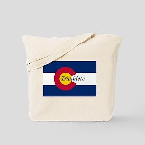 CO triathlete Tote Bag