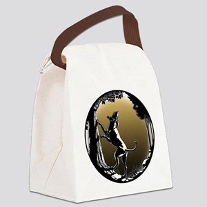 Hound Dog Art Gifts Hunting Dog S Canvas Lunch Bag