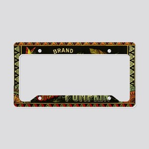 Vintage Fruit Crate Label License Plate Holder