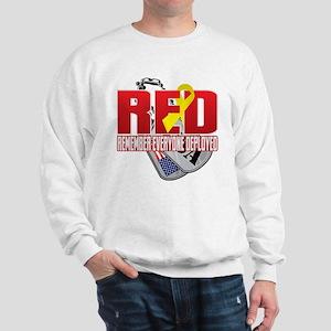 RED: Dog Tags Sweatshirt