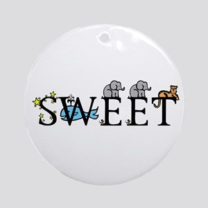 Sweet Ornament (Round)