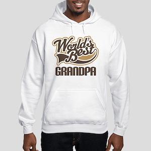 Worlds Best Grandpa Hooded Sweatshirt