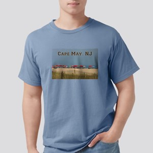 Cape May, NJ Beach Scene T-Shirt