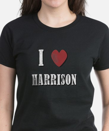 I love Harrison(White) T-Shirt