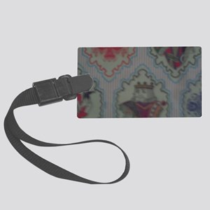 King's Laughter Large Luggage Tag