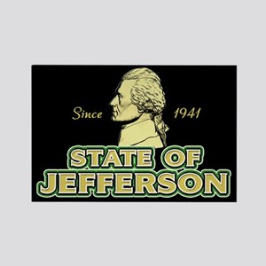 State of Jefferson - Since 1941 Rectangle Magnet