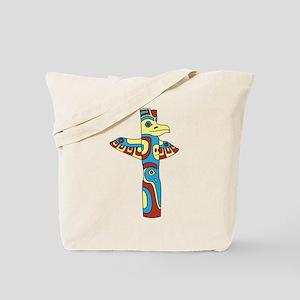 Alaskan Totem Pole Tote Bag