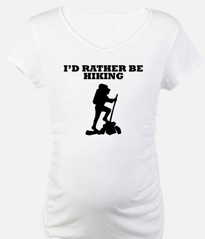 Id Rather Be Hiking Shirt