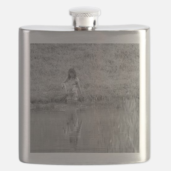 Ghost Girl #1 Flask