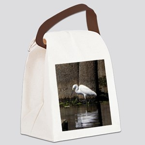 Fishing Canvas Lunch Bag