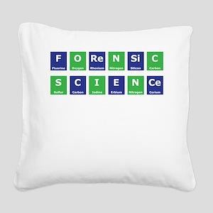 Periodic Table Square Canvas Pillow